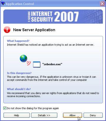 fw4-fsecure2007-zebedee-alert-1